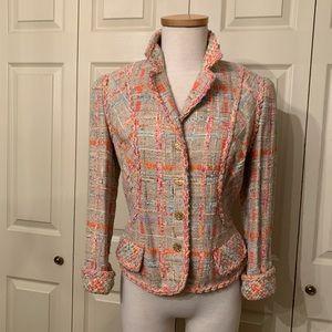 Carlisle Jackets & Coats - Carlisle Windsor Silk Blend Short Jacket Size 10